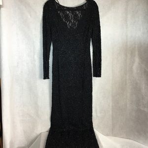 Vintage Carmen Marc Valvo designer gown sz10